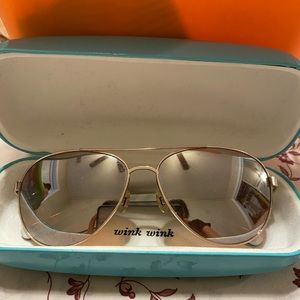 Kates spade sun glasses and free case